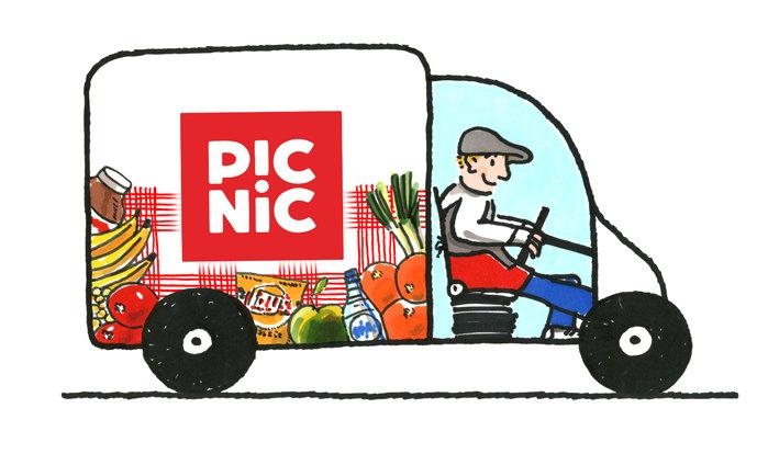 picnic boodschappen bestellen