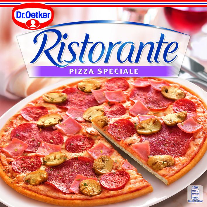 dr oetker ristorante pizza speciale bestellen online kopen. Black Bedroom Furniture Sets. Home Design Ideas