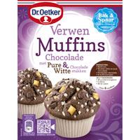 dr oetker verwen muffins met chocolade bestellen online kopen. Black Bedroom Furniture Sets. Home Design Ideas