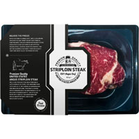 the frozen butcher striploin steak bestellen online kopen. Black Bedroom Furniture Sets. Home Design Ideas